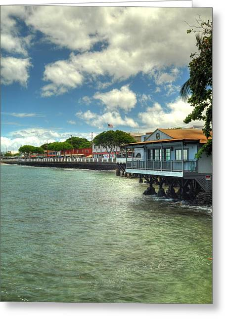 Lahaina Postcard 2 Greeting Card