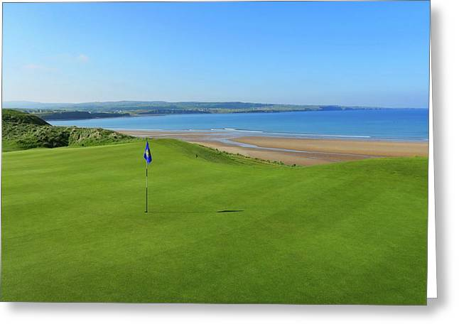 Lahinch Golf Club - Hole #7 Greeting Card