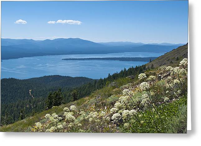 Lake Almanor Greeting Card