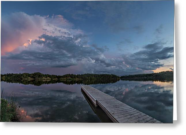 Lake Alvin Supercell Greeting Card