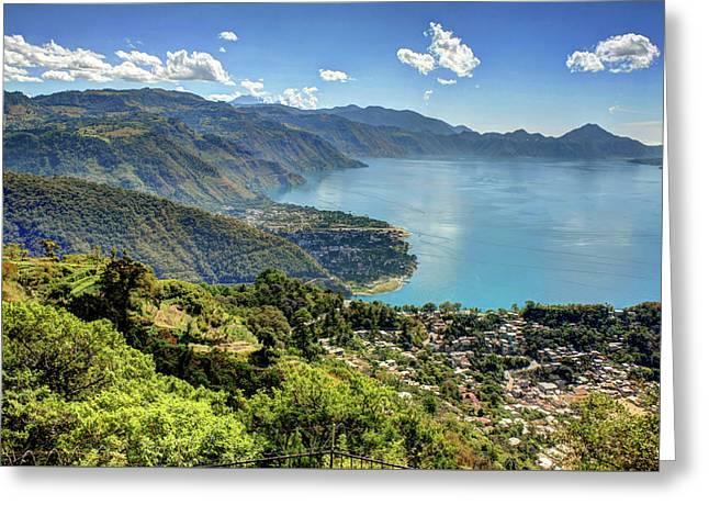Lake Atitlan Greeting Card