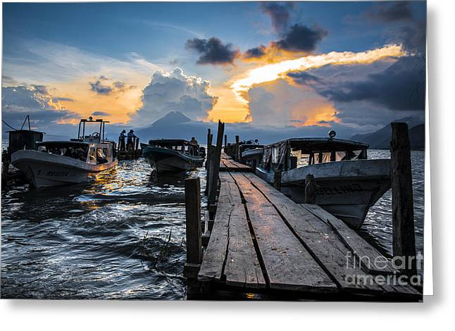Lake Atitlan Greeting Card