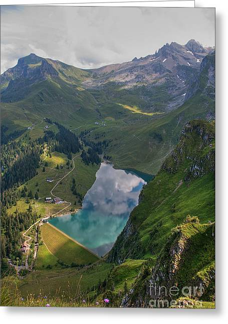 Lake Bannalp Greeting Card