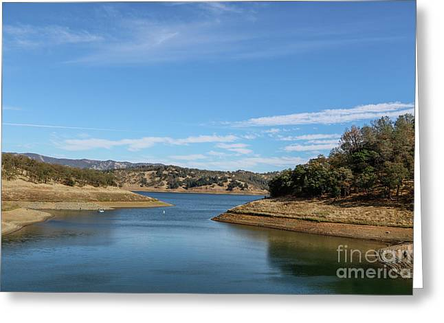 Lake Berryessa Greeting Card