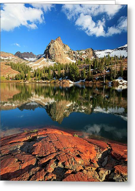 Lake Blanche Spring Vertical Greeting Card