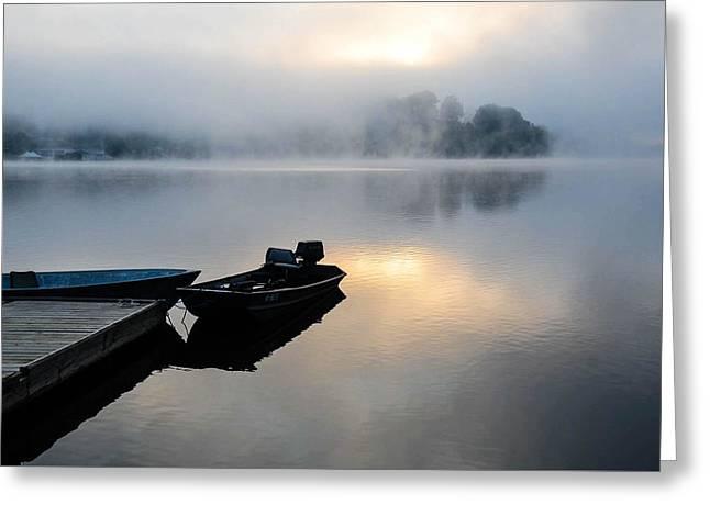 Lake Calm Greeting Card