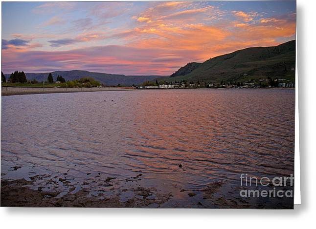 Lake Chelan Sunset Greeting Card