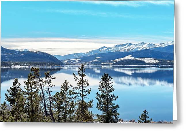 Lake Dillon Colorado Greeting Card