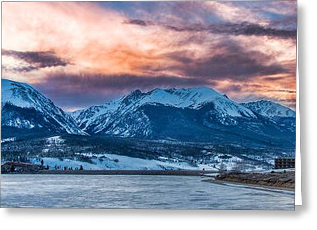 Lake Dillon Greeting Card by Sebastian Musial