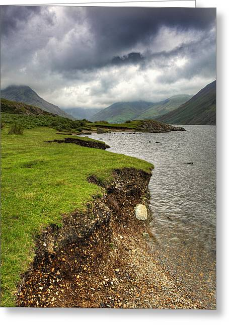 Lake District England Waswater Greeting Card by Tom  Wray