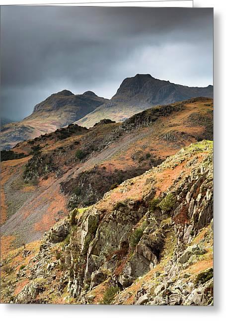 Lake District Fells Greeting Card