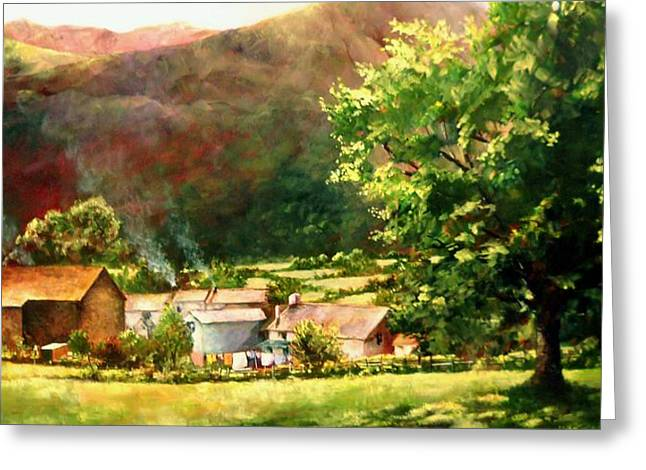 Lake District In May Greeting Card