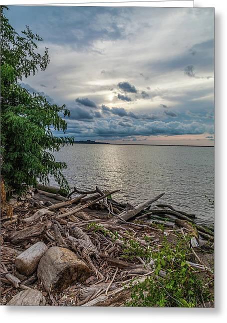 Lake Erie Serenade Greeting Card