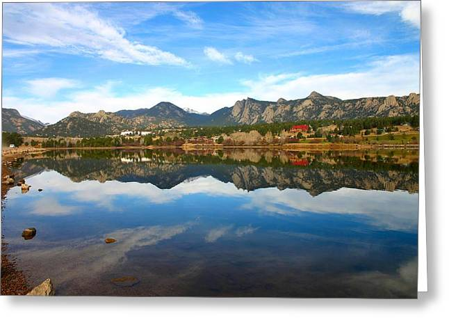 Lake Estes Reflections Greeting Card