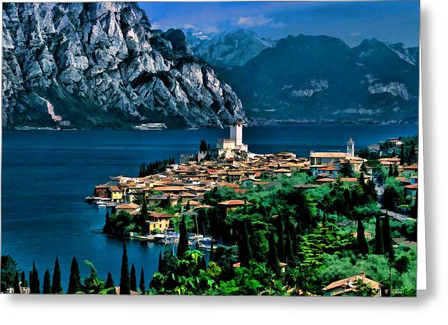 Lake Garda Greeting Card