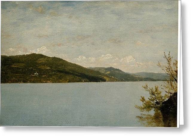 Lake George, 1872 Greeting Card by John Frederick Kensett