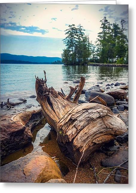 Lake George Palette Greeting Card