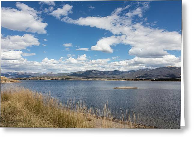 Greeting Card featuring the photograph Lake Granby -- The Third-largest Body Of Water In Colorado by Carol M Highsmith