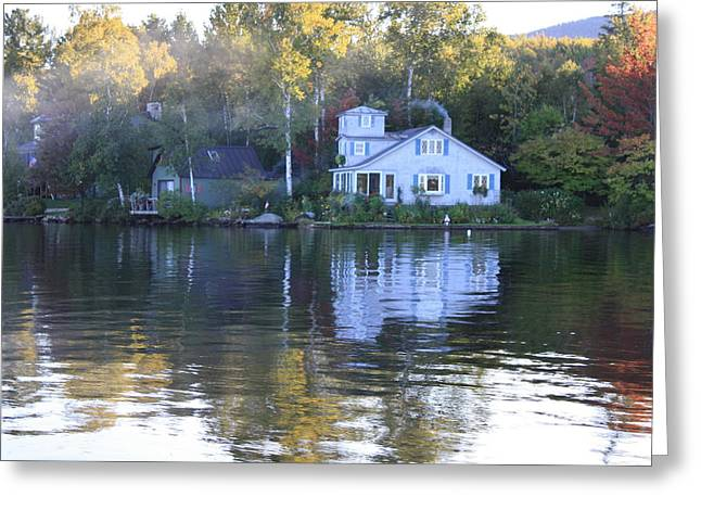 Lake Groton Vermont Greeting Card by Tara Moorman Photography