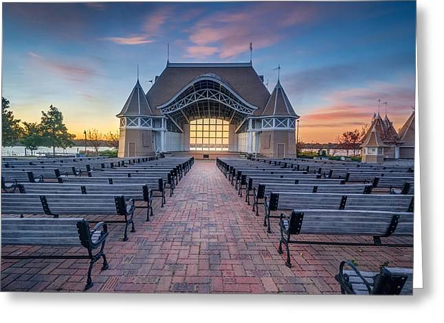 Lake Harriet Bandshell Greeting Card by RC Pics
