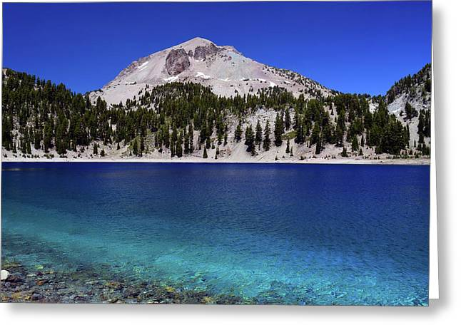 Greeting Card featuring the photograph Lake Helen Mount Lassen 2 by Frank Wilson