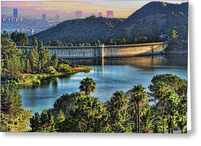 Lake Hollywood Greeting Card