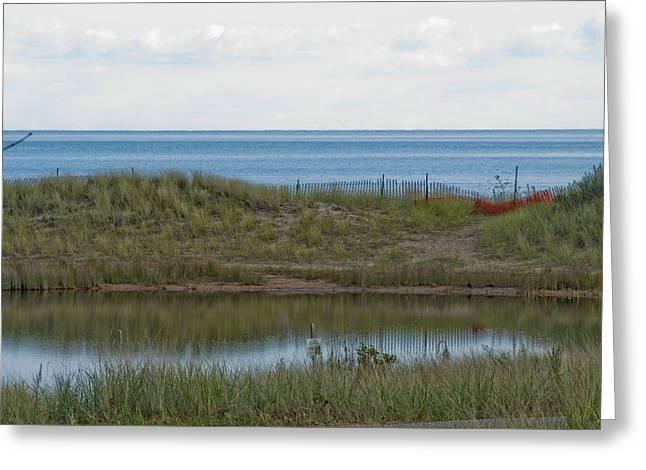 Greeting Card featuring the photograph Lake Huron by Tara Lynn