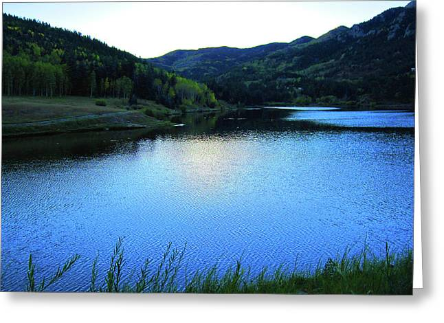 Greeting Card featuring the photograph Lake In Colorado by Tammy Sutherland