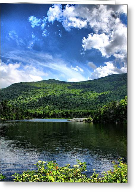 Lake In The Mountains 2 Greeting Card by Edward Myers