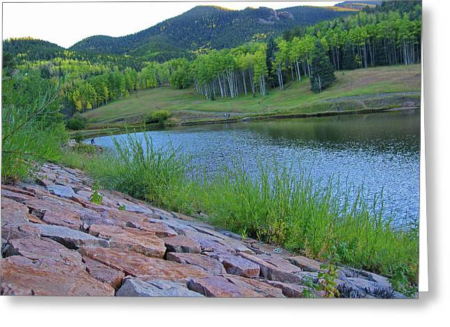 Greeting Card featuring the photograph Lake Isabel Colorado by Tammy Sutherland