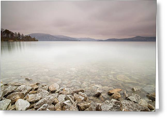 Lake Jocassee 12 Greeting Card by Derek Thornton