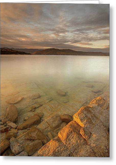 Lake Jocassee 17 Greeting Card by Derek Thornton