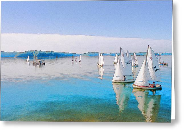 Lake Lanier Greeting Card