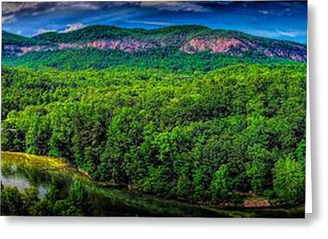 Lake Lure Greeting Card