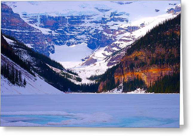 Lake Louise Greeting Card by Paul Kloschinsky