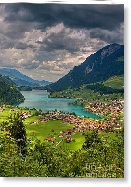 Lake Lungern Greeting Card
