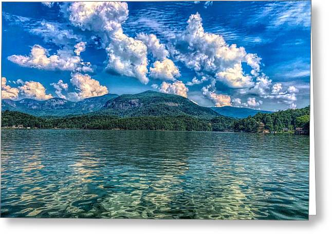 Lake Lure Beauty Greeting Card