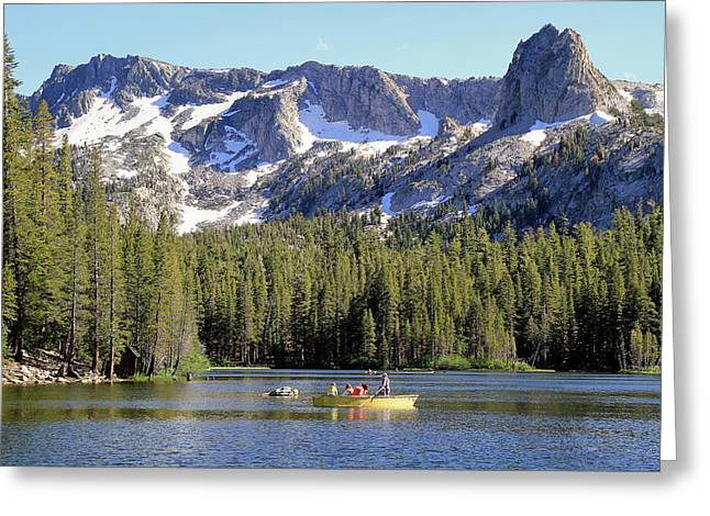 Lake Mamie Greeting Card by Donna Kennedy