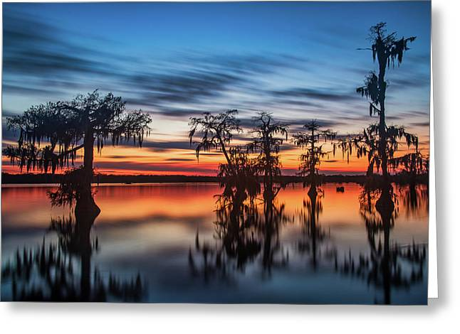 Lake Martin Sunset Greeting Card