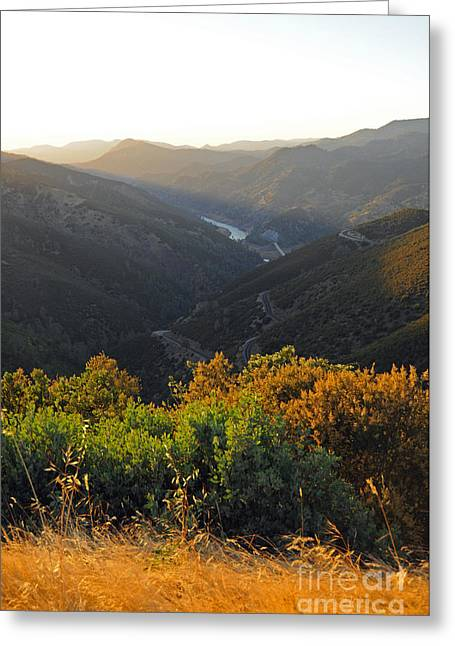 Lake Mcclure Ca Greeting Card