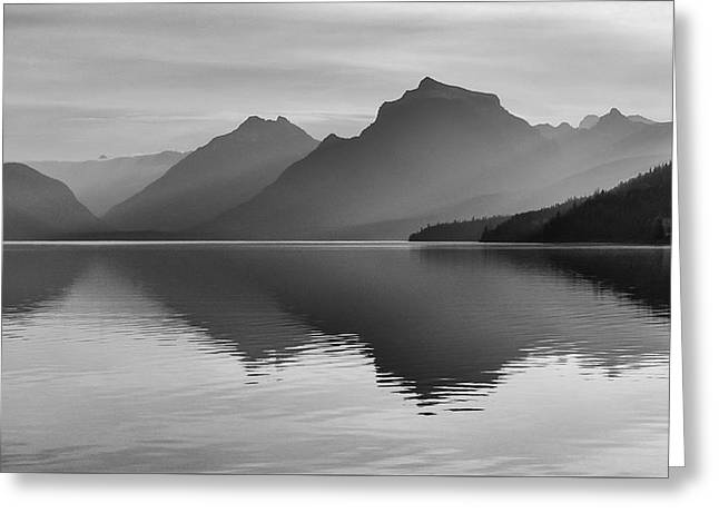 Lake Mcdonald Greeting Card by Monte Stevens