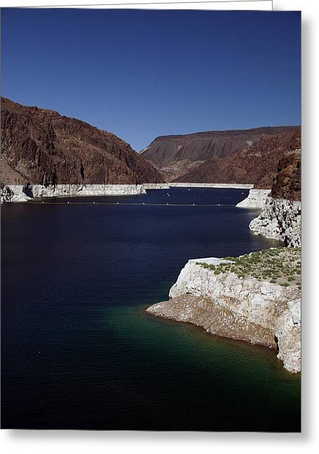 Lake Mead Greeting Card by Kelvin Booker