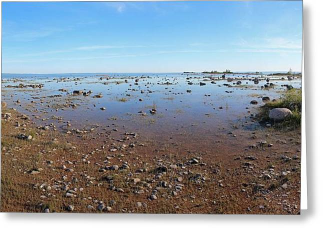 Lake Michigan At Old Mission Point Greeting Card by Twenty Two North Photography