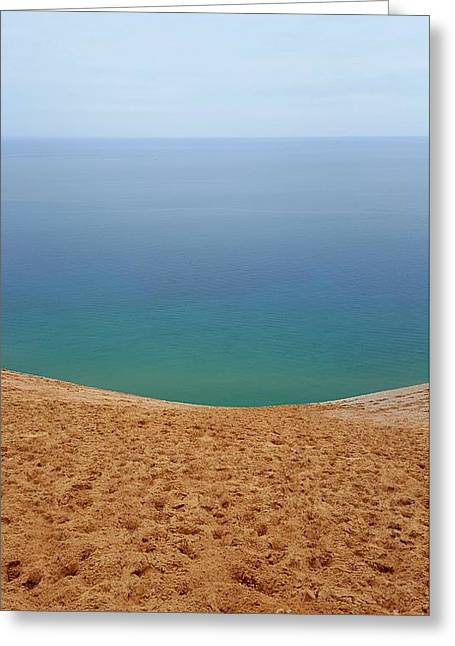Lake Michigan Colors Greeting Card by Debra Kaye McKrill