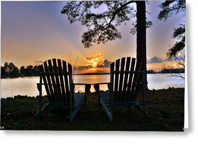 Lake Murray Relaxation Greeting Card