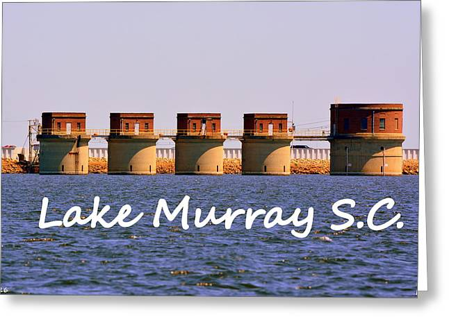 Lake Murray S C Greeting Card