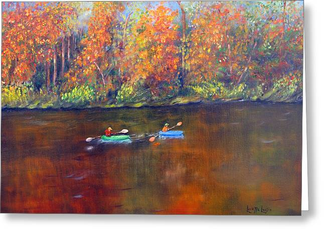 Lake Nockamixon Autumn Greeting Card