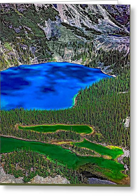 Lake O'hara Greeting Card by Steve Harrington