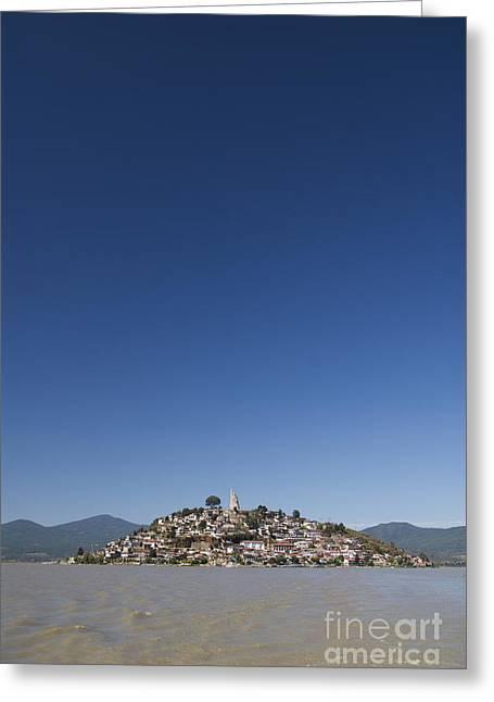 Lake Patzcuaro Greeting Card