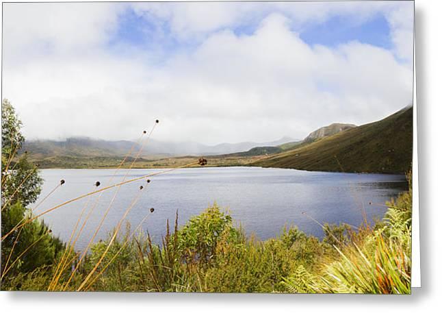 Lake Plimsoll In Western Tasmania Australia Greeting Card by Jorgo Photography - Wall Art Gallery